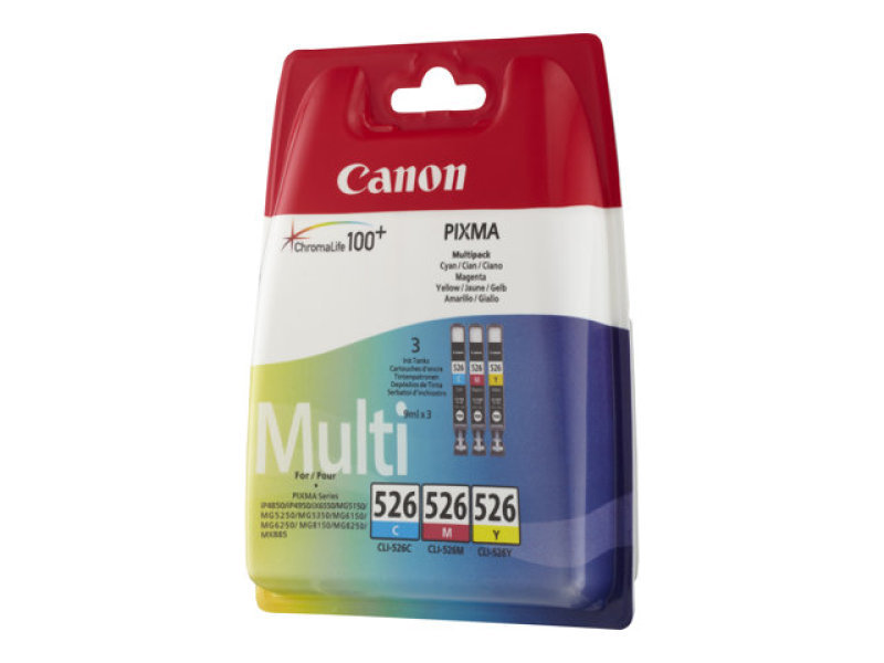 canon cli 526 multipack ink cartridge blister ebuyer. Black Bedroom Furniture Sets. Home Design Ideas