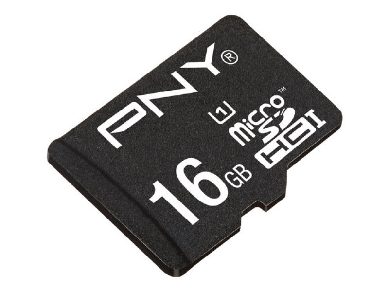 PNY High Performance Kit 16GB microSDHC flash memory card