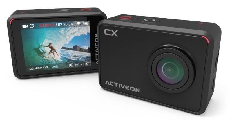 Image of ACTIVEON CX Full HD Action Camera - Onyx Black