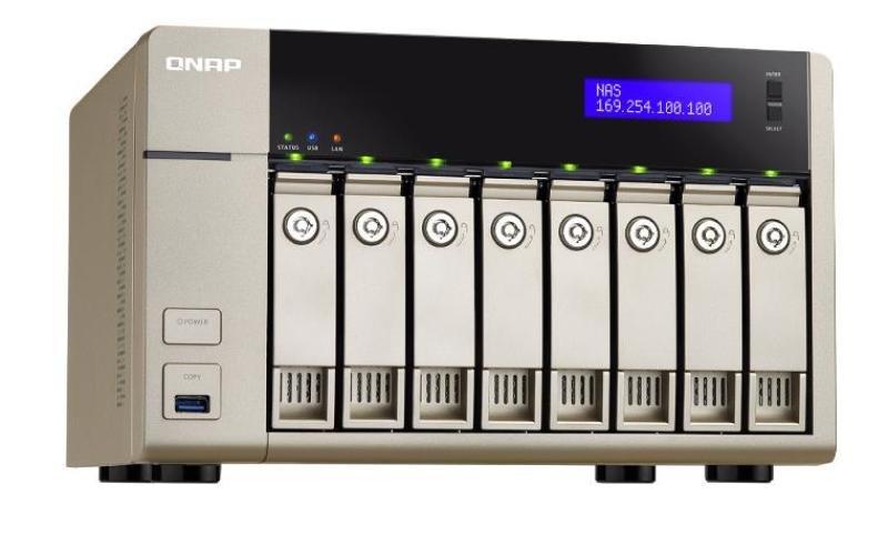 QNAP TVS-863+-8G 80TB (8 x 10TB SGT-IW) 8 Bay Desktop NAS with 8GB RAM