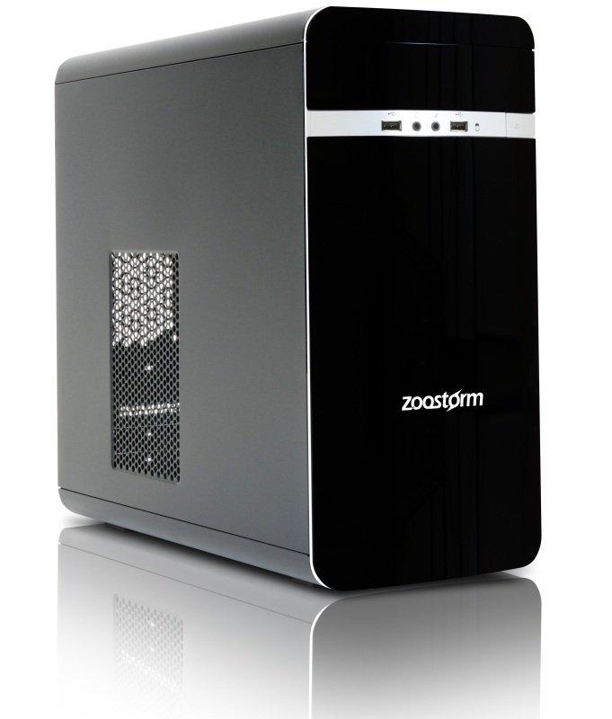 Zoostorm Desktop PC Intel Pentium G4400 3.3GHz 8GB RAM 1TB HDD DVDRW Intel HD No Operating System