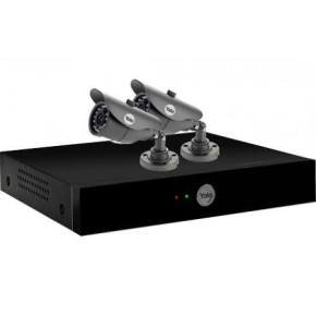 Yale YCK-H48002 4-Channel 960H CCTV Digital Video Recorder & 2 Cameras