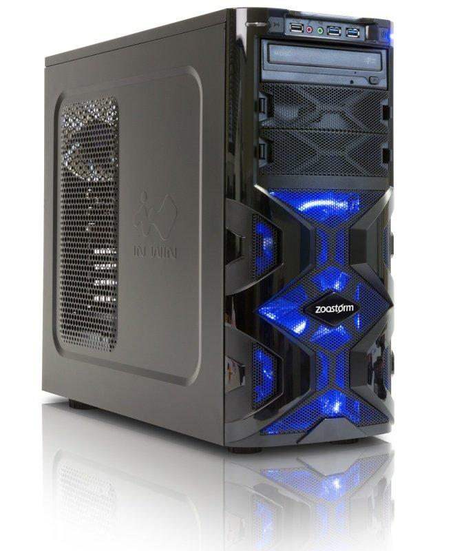 StormForce Tornado VR Gaming PC Intel Core i56400 2.7GHz 8GB RAM 2TB HDD 120GB SSD DVDRW NVIDIA GTX 1060 6GB Windows 10 Home