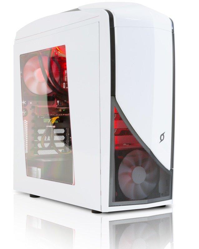 StormForce Glacier VR Gaming PC Intel Core i76700 3.4GHz 8GB RAM 2TB HDD 120GB SSD DVDRW NVIDIA GTX 1060 6GB Windows 10 Home 64bit