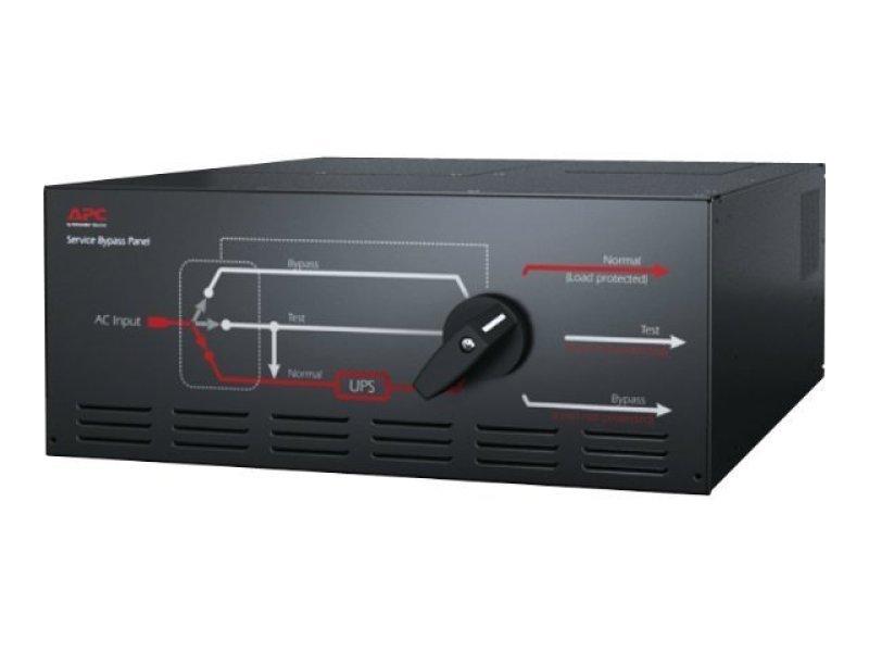 APC Service Bypass Panel 230V 125A HW input IEC-320 output (8) C19