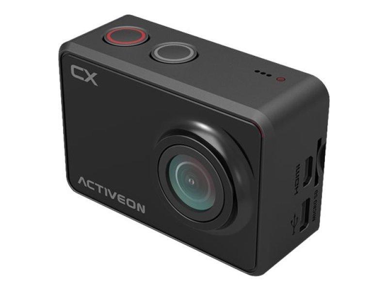 ACTIVEON CX Full HD Action Camera - Onyx Black