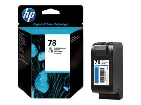 HP 45 Black & HP 78 Colour (CYM) Ink Cartridge Kit