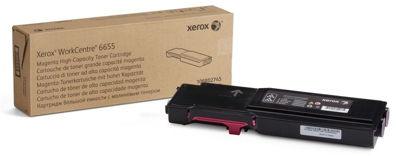 Xerox 106R02745 High Yield Magenta Toner Cartridge