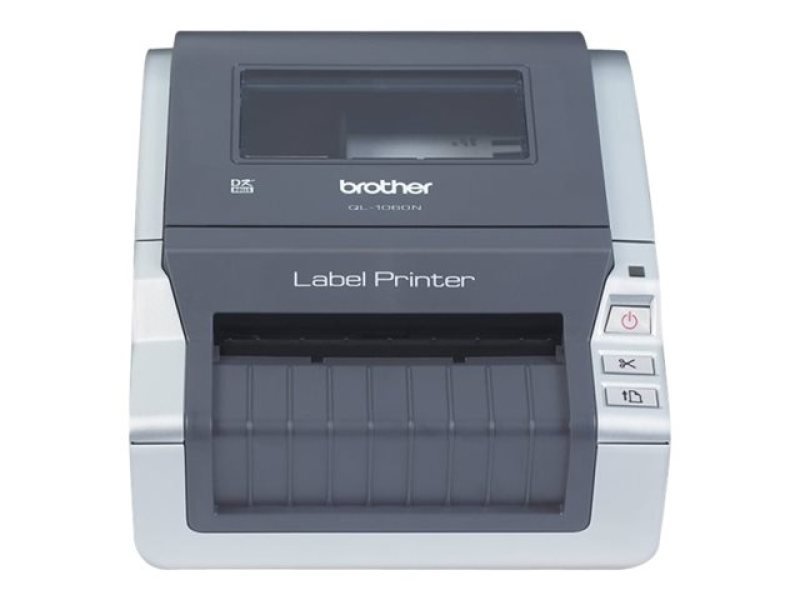 Brother QL-1060N 300dpi Mono Network Label Printer Serial and USB with Automatic Cutter