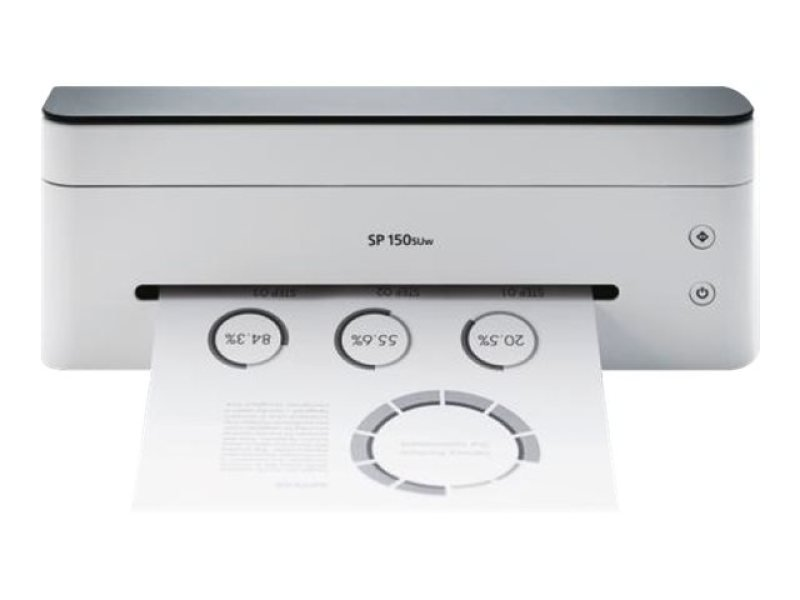Image of Ricoh Sp150su-a4 B&w Multifunctional Desktop Printer.22ppm/print Copy Scan/128mb/600x600 Dpi/gdi & Usb 2.0/ 50 Sheets Paper Cap Via Extendable Tray /2 Year Pan-european Warranty