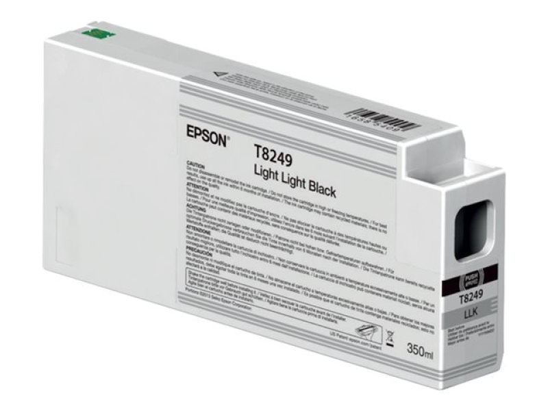 Epson T8249 Ink Cartridge Light Light Black 350ml