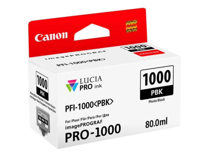 Canon Pro 1000 Photo Black Ink Tank