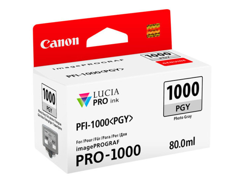 Ink Cart/PFI-1000 Photo Grey