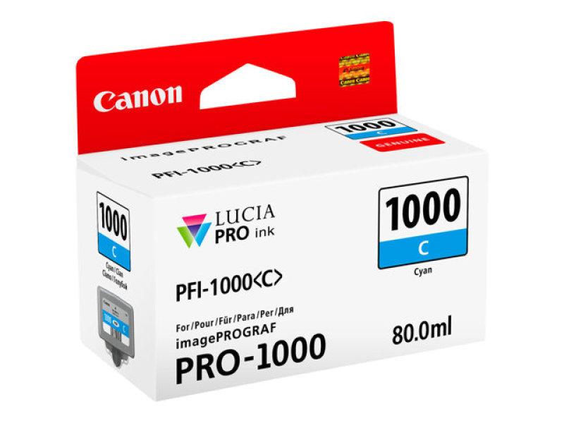Canon Cyan Ink Tank Pro 1000