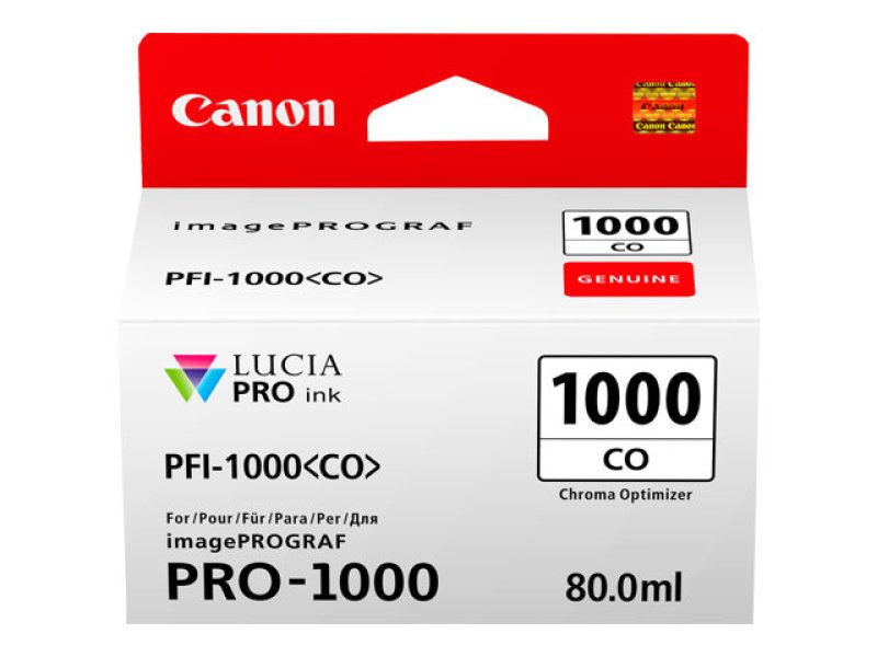 Canon Chroma Optimizer Ink Tank Pro 1000