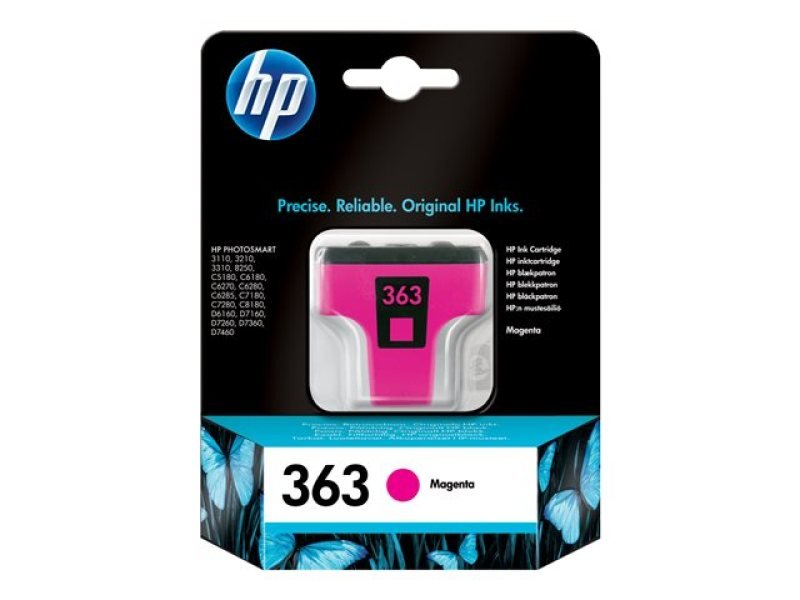 HP 363 Ink Cart Magenta Original