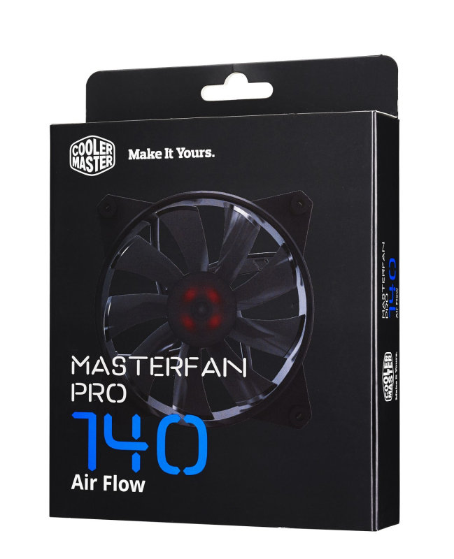 CoolerMaster Master Fan Pro 140 Air Flow Computer case Fan