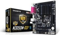 EXDISPLAY Gigabyte GA-N3050M-D3P N3050 1.6GHz VGA HDMI 7.1 Channel Audio Micro ATX Motherboard