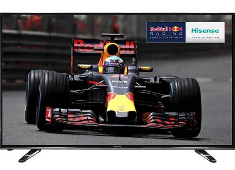 "Image of 55"" 4k Uhd Led Tv With Freeview Hd 3840 X 2160 Black 3x Hdmi And 3x"