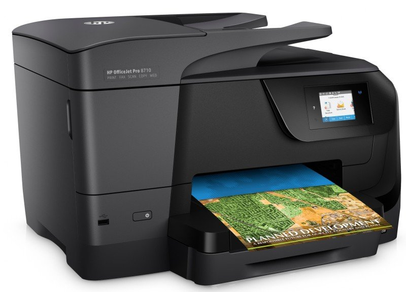 HP Officejet Pro 8710 Allinone Multifunction Wireless Inkjet Printer