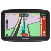 TomTom VIA 62 6-inch Sat Nav with Lifetime Western Europe Maps and Traffic Updates