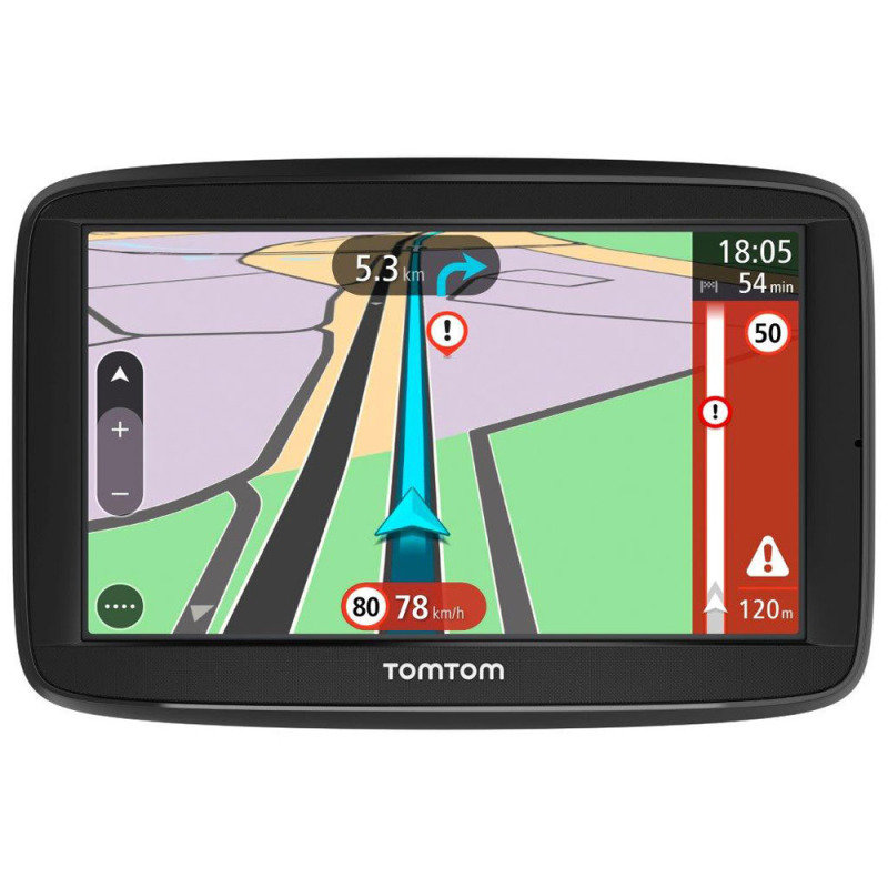 TomTom VIA 62 6inch Sat Nav with Lifetime Western Europe Maps and Traffic Updates