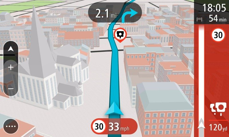 TomTom GO 5100 5 inch World Maps Sat Nav with Sim Card and Unlimited Data Included
