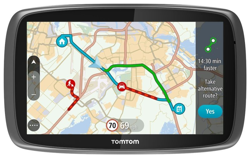 tomtom go 6100 6 inch world maps sat nav ebuyer. Black Bedroom Furniture Sets. Home Design Ideas