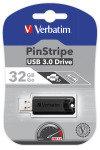Verbatim 32GB Store'n'Go Pinstripe USB 3.0 Flash Drive