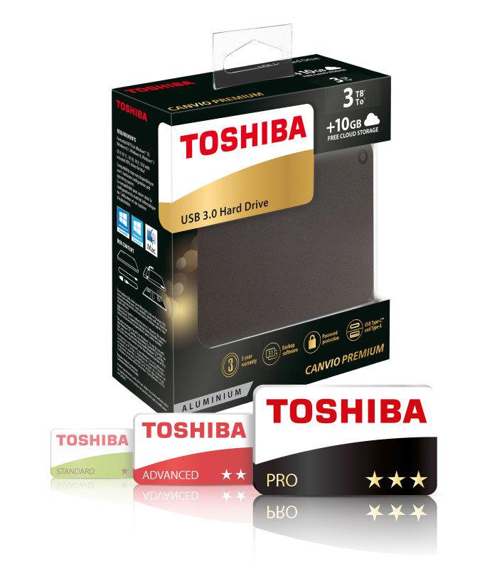 Toshiba canvio premium 3tb usb 3 0 ebuyer for 3tb esterno