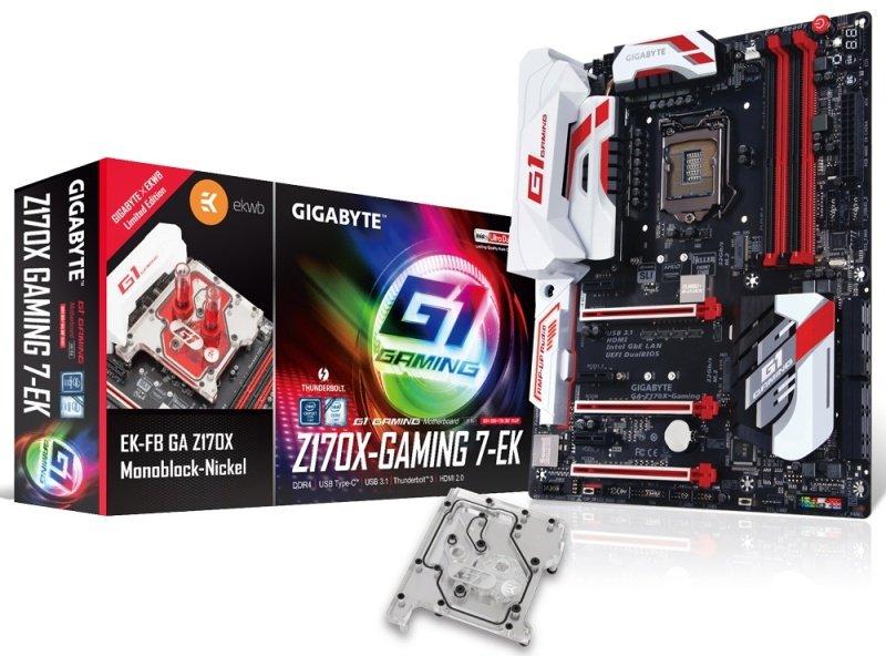 Gigabyte GAZ170XGaming 7EK Socket LGA1151 HDMI DisplayPort ATX Motherboard