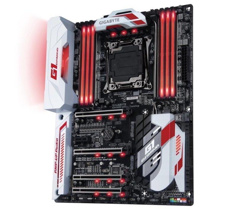 Gigabyte GA-X99-Ultra Gaming-EK Socket LGA2011-3 ATX Motherboard