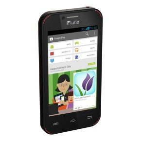 Kurio C14500 4GB Smartphone build for kids - Black