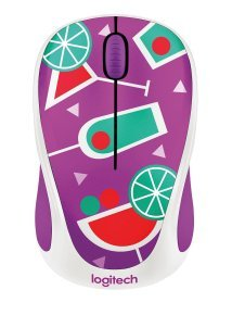 Logitech M238 Wireless Mouse - Coctail