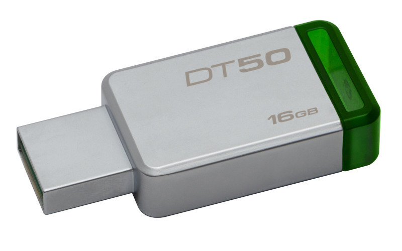 Kingston DataTraveler 50 16GB USB 3.0 Flash Drive