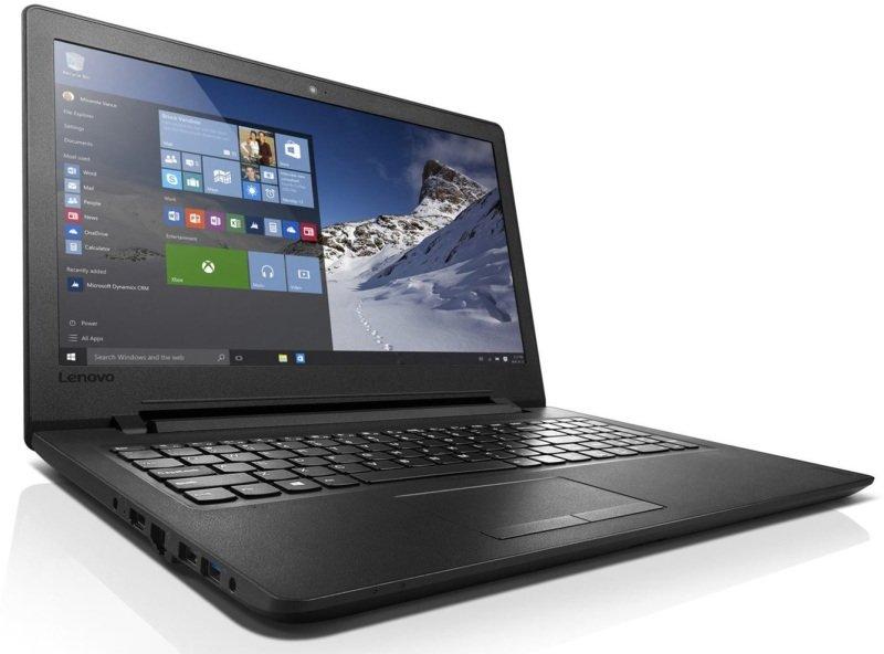 "Image of Lenovo IdeaPad 110 Laptop, Intel Celeron N3060 1.6GHz, 4GB RAM, 1TB HDD, 15.6"" LED, DVDRW, Intel HD, WIFI, Bluetooth, Windows 10 Home 64bit"