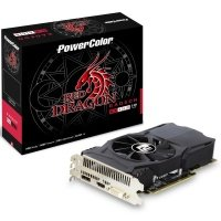 PowerColor Red Dragon RX 460 2GB GDDR5 Dual-Link DVI-D HDMI DisplayPort PCI-E Graphics Card