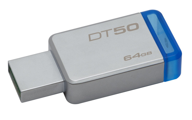 Kingston DataTraveler 50 64GB USB 3.0 Flash Drive