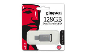 Kingston DataTraveler 50 128GB USB 3.0 Flash Drive