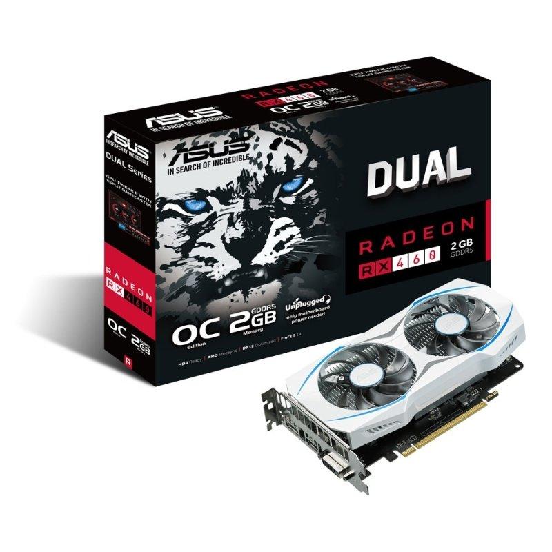 Asus Radeon RX 460 2GB GDDR5 DVID HDMI DisplayPort PCIE Graphics Card