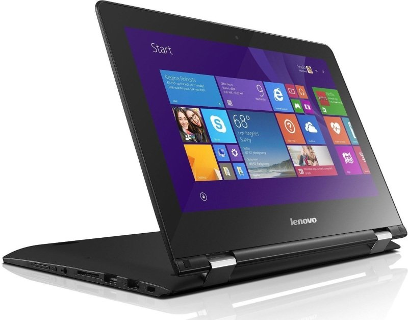 "Image of Lenovo Yoga 300 Convertible Laptop, Intel Pentium N3710 1.60GHz, 4GB RAM, 500GB HDD, 11.6"" Touch, No-DVD, Intel HD, WIFI, Bluetooth, Windows 10 Home 64bit"