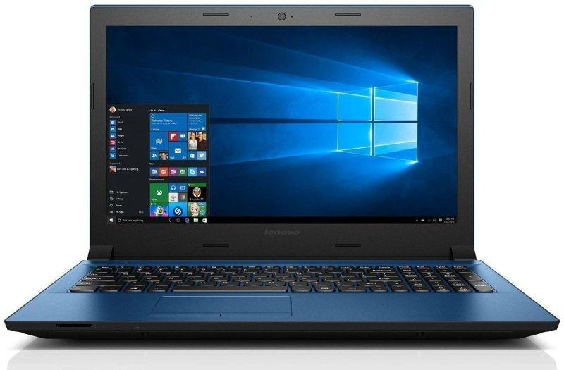 Image of Lenovo IdeaPad 305 Laptop, Intel Core i3-5005U 2GHz, 8GB RAM, 2TB HDD, 15.6 LED, DVDRW, Intel HD, WIFI, Webcam, Bluetooth, Windows 10 Home 64-bit - Blue