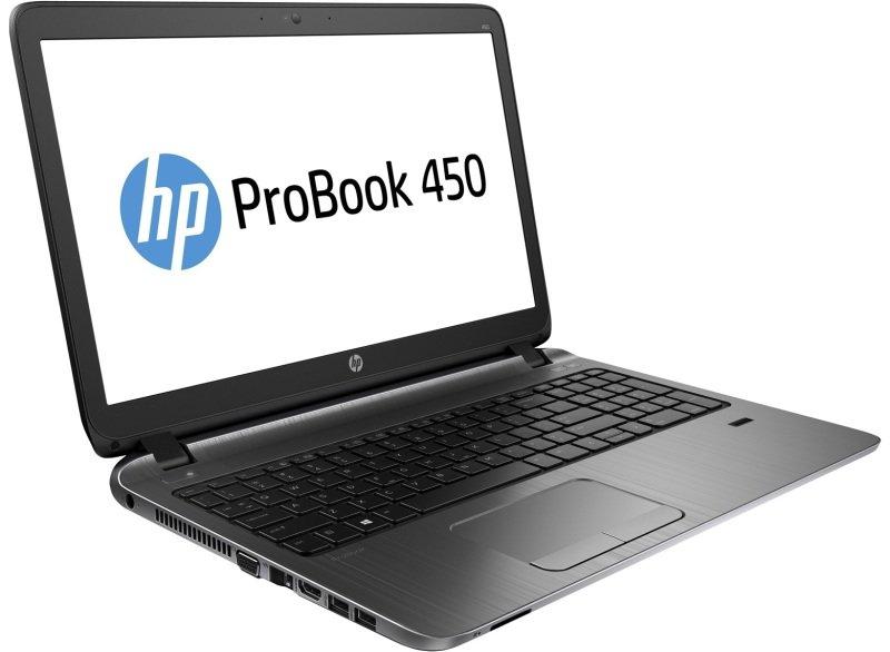 "Image of HP ProBook 450 Laptop, Intel Core i3-6100U 2.3GHz, 4GB DDR4, 128GB SSD, 15.6"" LED, No-DVD, Intel HD, WIFI, Webcam, Bluetooth, Windows 7 / 10 Professional"
