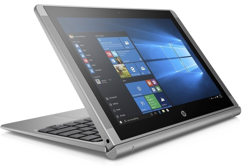 "Image of HP X2 210 Convertible Laptop, Intel Atom x5 Z8300 / 1.44 GHz - 64GB SSD eMMC Storage - 10.1"" IPS Touch Display / 1280 x 800 - Wifi and Bluetooth 4.0 - Windows 10 Home 64-bit"