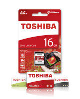 Toshiba 16GB Exceria N302 SD Card