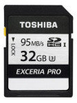 Toshiba 32GB EXCERIA PRO N401 SD Card