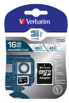 Verbatim Pro U3 16GB* Micro SDHC Card