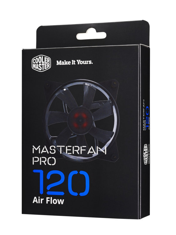 Cooler Master Masterfan Pro 120 Air Flow Computer Case Fan
