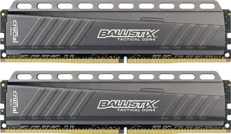 Crucial Ballistix Tactical 8GB (2x4GB) DDR4-2666 UDIMM Memory Kit