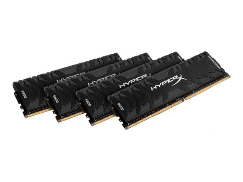 HyperX Predator 64GB (4x16GB) 3000MHz DDR4 CL15 DIMM Memory Kit